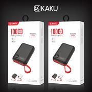 卡酷 創源系列10000毫安自帶樂視線移動電源