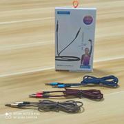 貝唄美3.5mm音頻線棉網編織一線連接AD917